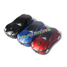 NEW 2.4GHz Wireless 3D 1600DPI Infiniti Car Style Optical Usb Gaming Mouse Mice
