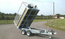 BATESON 202H TIPPER CAR TRAILER TWIN AXLE 2 TONNE 2.6T 3.5T ALSO AVAILABLE