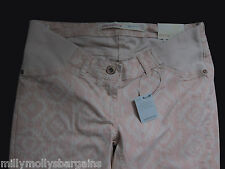 New Womens Pink Skinny NEXT Maternity Jeans Size 20 18 16 14 12 10 RRP £32