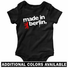 Made in Berlin One Piece - Germany Deutschland Baby Infant Creeper Romper NB-24M