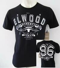 ELWOOD Mens 2016 Latest Premium Top Tee T-Shirt Size S M L XL XXL black
