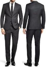 NWT $895 Hugo Boss Black Label Super 100 Wool Micro-Check Luxurious Suit