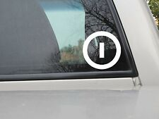 Independent Party Logo Sticker - Vinyl Decal - Various Sizes & Colors
