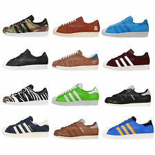 Adidas Originals Superstar 80s Classic Mens Casual Shoes Fashion Sneakers Pick 1