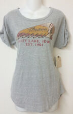 NWT Lucky Brand Woman Indian Motorcycle Tee T-shirt Top Size S, M & XL 7WDG180