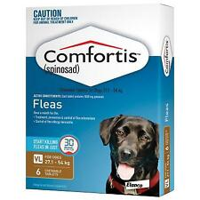 Comfortis Flea Tablets for Dogs 27.1-54kg (Brown)