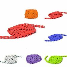 """11 Colors Bike Chain Fixed Gear Track BMX Bicycle Single Speed 1/8"""" Chains E11"""