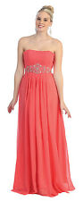 TheDressOutlet Bridesmaid Prom Plus Size Formal Evening Long Dress