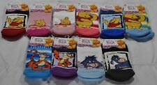 Boys and Girls Winnie the Pooh, Tigger, and Eeyore Socks with gripper soles