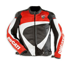 DUCATI Dainese CORSE ´12 Leather Jacket Leather Jacket black red NEW