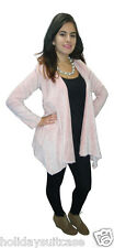 NEW LADIES WOMANS WARM COSY WINTER VELOUR CARDIGAN/WRAP PLUS SIZE 18 TO 24 UK