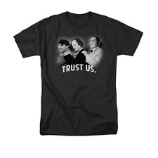 THREE STOOGES TURST US Officially Licensed Men's Graphic Tee Shirt SM-3XL