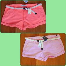 NWT Abercrombie & Fitch Casual Daphne low Rise Shorts size 10 by Hollister