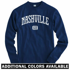 Nashville 615 Long Sleeve T-shirt LS - Titans Predators Sounds TN - Men / Youth