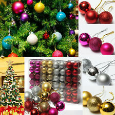 Ball Bauble Hanging Xmas Christmas Tree Decor Home Party Ornament Decor 24X CH