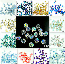 Wholesale new  200PCS  #5000 ROUND crystal glass jade Loose Spacer 4mm 70 color