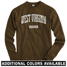 West Virginia Represent Long Sleeve T-shirt LS - Charleston Marshall Men / Youth