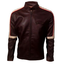 War Of The Worlds Tom Cruise Biker Real Leather Jacket - BNWT