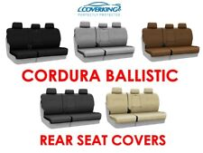 Coverking Cordura Ballistic Custom Fit Rear Seat Covers for Hummer H3