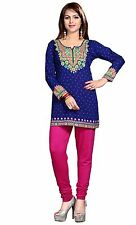 Indian Designer Crepe kurta blouse tops Kurtis-Tunics for Women