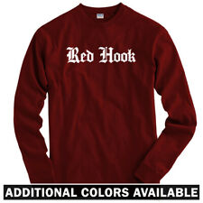 Red Hook Gothic Brooklyn Long Sleeve T-shirt LS - NYC New York City  Men / Youth