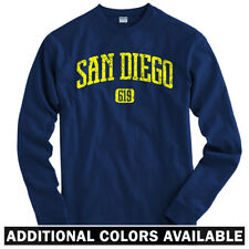 San Diego 619 Long Sleeve T-shirt LS - California Chargers Padres - Men / Youth