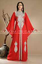NEW MOROCCAN DUBAI KAFTAN ABAYA JALABIYA JILBAB ISLAMIC ARABIAN DRESS 3970