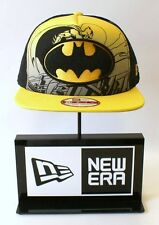 New Era 9FIFTY Batman Hero Scene Black Yellow Mesh Snapback Hat Baseball Cap