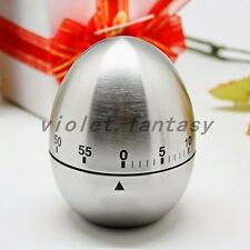 Popular Steel Hour Cooking Mechanical Timer Ring Alarm 60 Minutes Egg Counting