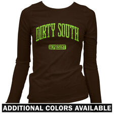 Dirty South Represent Women's Long Sleeve T-shirt LS - Atlanta Houston MIA  S-2X