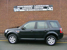 2007 FREELANDER 2 3.2 XS AUTO, HSE OPTIONS, BLACK WITH BLACK LEATHER