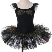 Girl Ballet Tutu Dance Costume Leotard Pageant Fairy Dress Size 3 4 5 6 7 8 #055