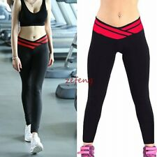 Women Elastic Comfortable stretch Sport slimming Legging Workout pants Fitness