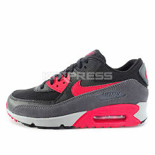 Nike WMNS Air Max 90 Essential [616730-020] NSW Running Black/Red-Dark Grey