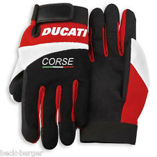 DUCATI Corse PITLANE Mechanics Gloves Work Gloves Fabric Gloves NEW