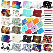 "Painted/Rubberized Hard Case Keyboard Cover For Macbook Pro 13""15/Air 11 13""/12"""