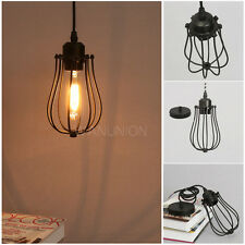Vintage Industrial Ceiling Lamp Chandelier Kitchen Pendant Light/Wall Sconce