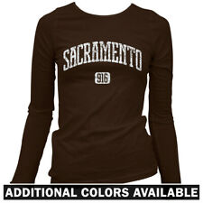 Sacramento 916 Women's Long Sleeve T-shirt LS - Sac-Town California Kings - S-2X