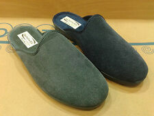 New Mens Slippers Shoes Moccasin Outdoor-Indoor Slip On Scuffs Winter All Sizes