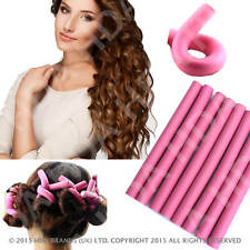 Bendy Hair Rollers - Soft Foam Flexible hair Dressing Twisty Curlers - Pack of 8