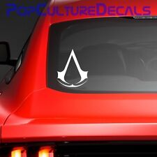 Assassin's Creed Vinyl Decal, Car Window Decal