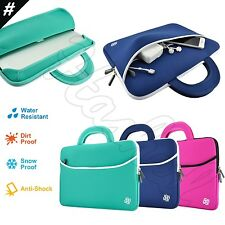 """Slim 14"""" 14.1"""" Inch Laptop Ultrabook Sleeve Carrying Case Cover Bag Handle"""