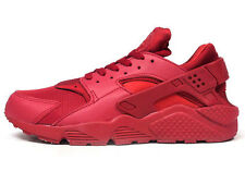 NIKE AIR HUARACHE TRIPLE RED, LIMITED EDITION IN VARIOUS SIZES