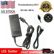 20V 65W AC Adapter For Lenovo IdeaPad Yoga 13-2191 Power Supply Cord Charger OEM