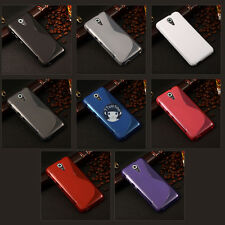 S Line Soft Gel TPU Silicone Case Skin Cover Shell For HTC Desire 620 620G