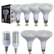 6x10x 6W 10W 12W 15W E12 Corn Lamps BR30 BR40 SMD LED Recessed Bulb Flood Light