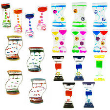 Spinning Dripping Zig Zag Liquid Motion Timer Oil Toy Multi-Color Autism Lot Box