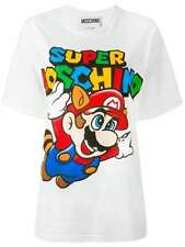 "SS16 MOSCHINO COUTURE X JEREMY SCOTT SUPER MARIO ""SUPER MOSCHINO"" ALL SIZES TEE"