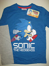 Boys long sleeved Sonic the Hedgehog t-shirt ages 7-8, 9-10, 11-12 and 13 BNWT