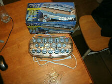 Conair - Instant Heat Ion Shine Hair Setter w/ 20 Multisize Rollers - Blue/Gray